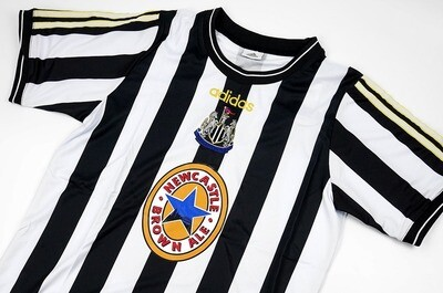 NEWCASTLE RETRO MAGLIA NEWCASTLE RETRO JERSEY 1997 1998