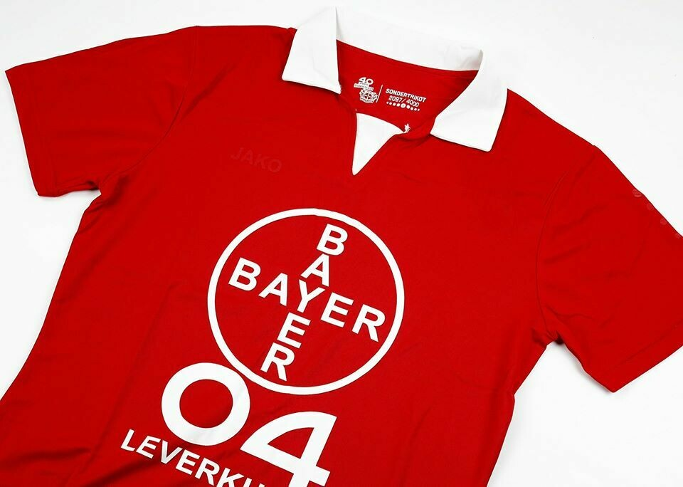 BAYER LEVERKUSEN HOME 2019-2020 40 YRS IN BUNDESLIGA