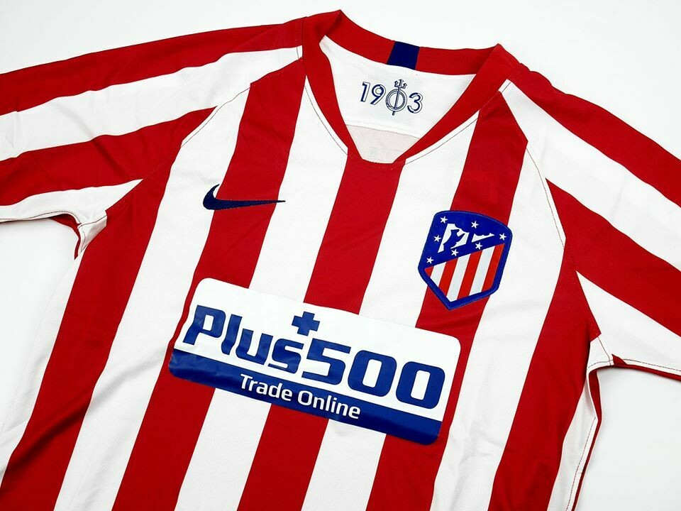 ATH MADRID HOME 2019-2020 ATLETICO MADRID MAGLIA CASA