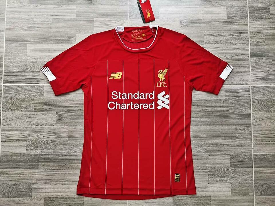 LIVERPOOL HOME  2019-2020 MAGLIA CASA PLAYER VERSION