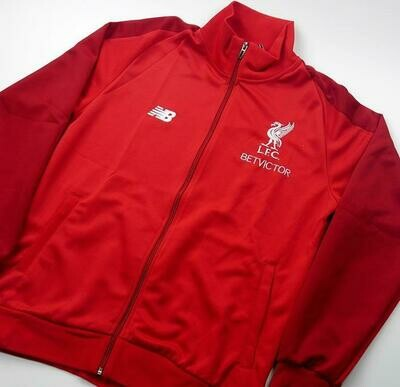LIVERPOOL JACKET RED 2018-2019 GIACCA