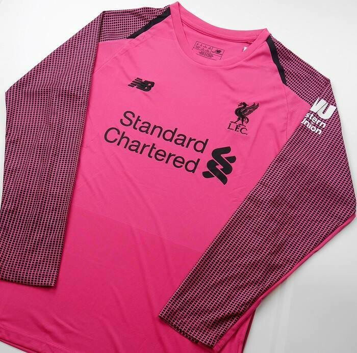 LIVERPOOL GOAL KEPPER PINK LONG SLEEVED 2018-2019