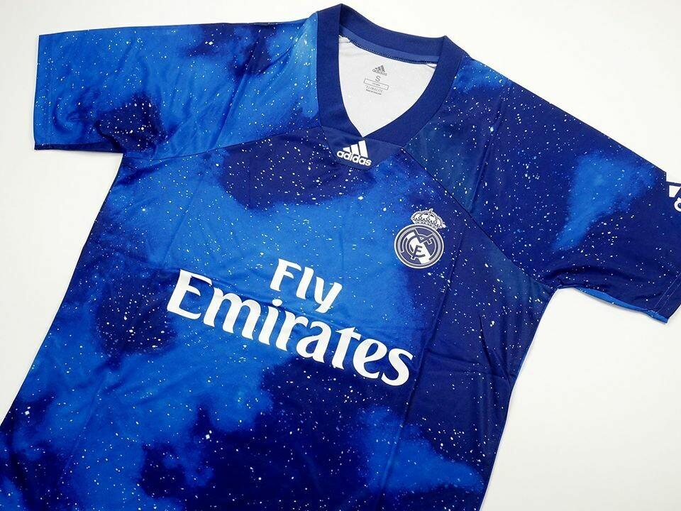 REAL MADRID EA SPORT 1819 BLUE 2018 2019