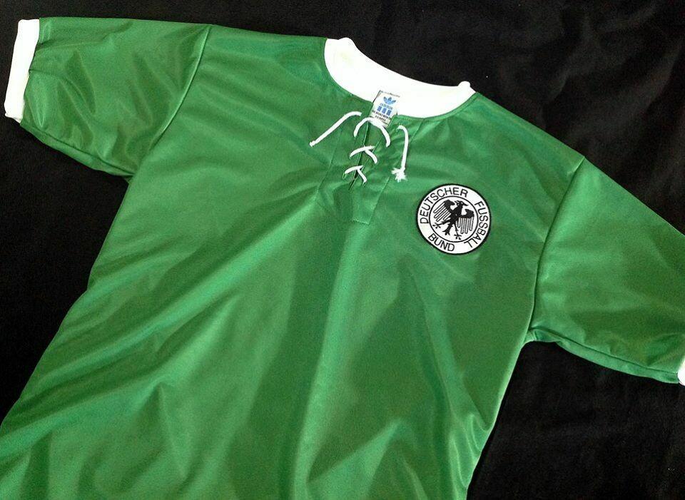 GERMANY AWAY 1954 WC CHAMPIONS MAGLIA TRASFERTA
