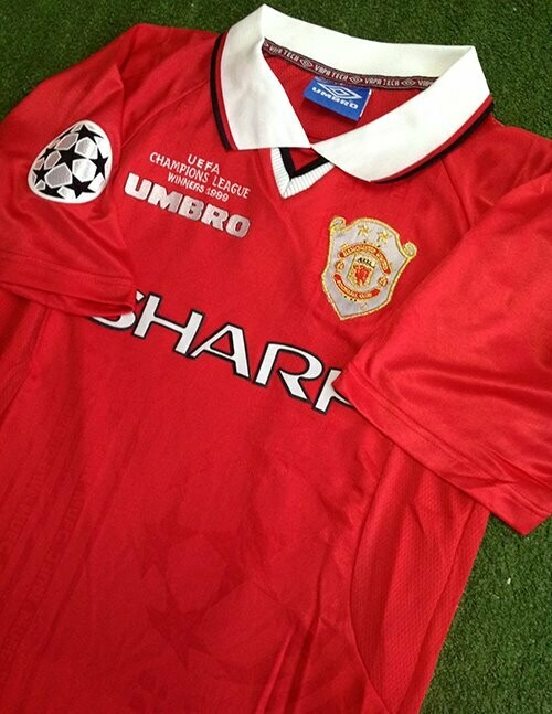 MAN UTD HOME UCL WINNER 1999-2000 (2 STARS)
