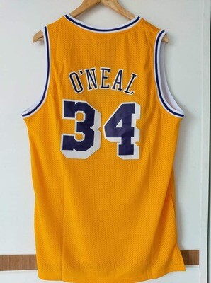 LAKERS LOS ANGELES MAGLIA LAKERS 34 Shaquille O'Neal