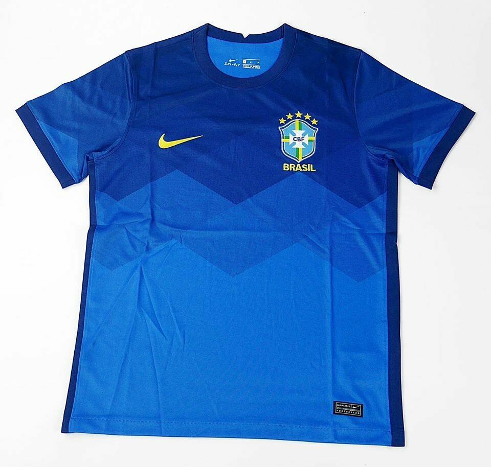 BRASILE MAGLIA TRASFERTA JERSEY AWAY  2020 2021
