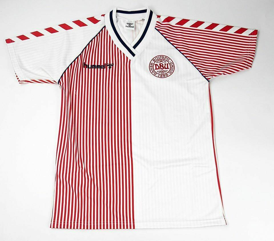 DENMARK HOME WC 1986  MAGLIA CASA 86 1986 WORLD CUP MONDIALI 1986 DANIMARCA