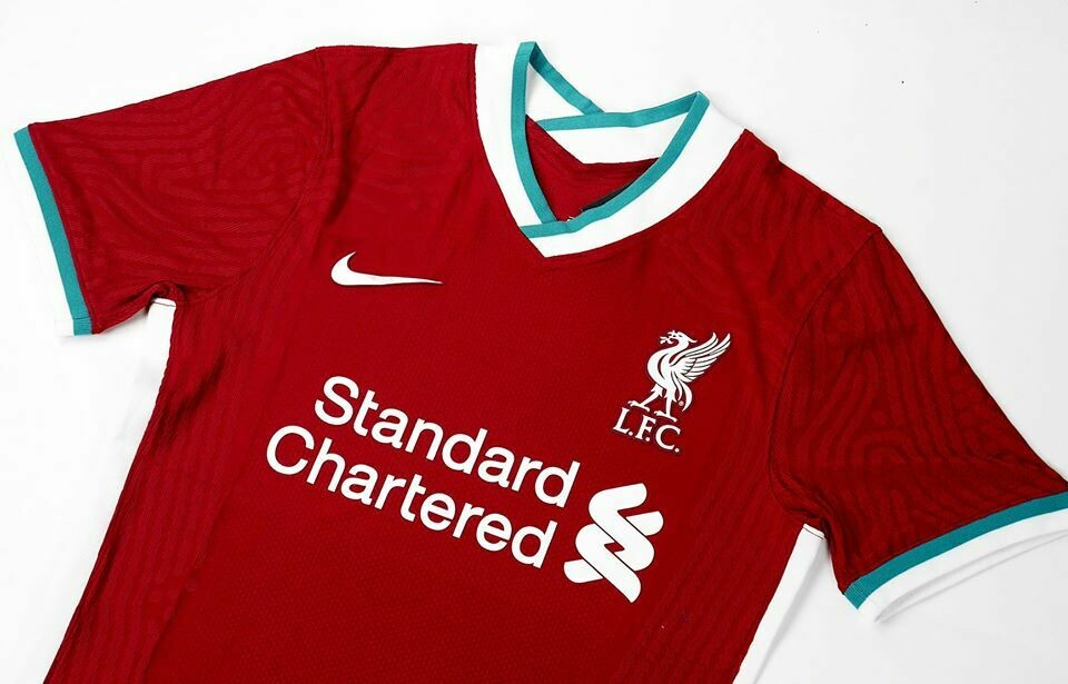 LIVERPOOL HOME PLAYER 2020-2021 MAGLIA CASA PLAYER 20 21
