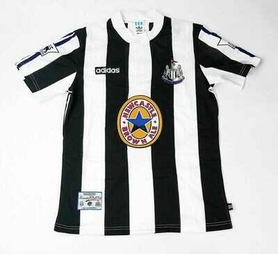 NEWCASTLE HOME 1995-1996 MAGLIA NEWCASTLE CASA HOME 95 96