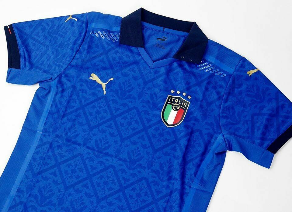 ITALY HOME PLAYER VERSION 2020-2021 MAGLIA CASA PLAYER