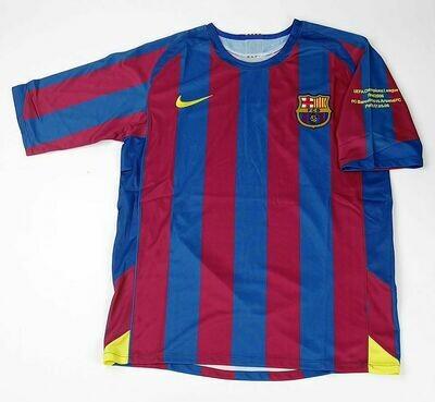 BARCELONA FINAL UCL 2006 FINALE CHAMPIONS 2006 BARCELONA
