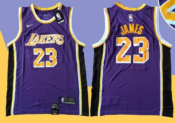 LOS ANGELES LAKERS  MAGLIA JERSEY LE BRON JAMES 23