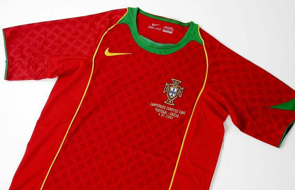 PORTUGAL HOME FINAL EURO 2004 PORTOGALLO MAGLIA CASA EURO 2004