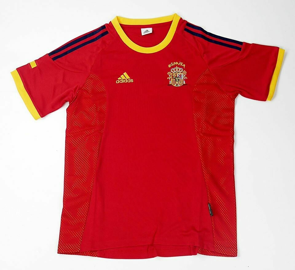 SPAGNA WORLD CUP 2002 WORLD CUP 2002 SPAIN MAGLI A CASA JERSEY HOME SPAIN 2002