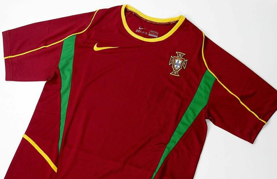 PORTOGALLO WORLD CUP 2002 WORLD CUP 2002 PORTUGAL MAGLI A CASA JERSEY HOME PORTUGAL 2002