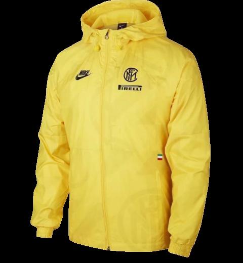INTER 2020 2021 Wind Coat - Yellow  INTER 2020 2021 Jacket