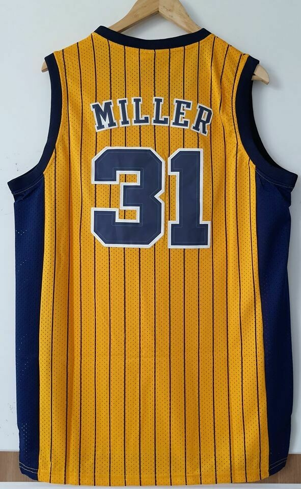 MILLER 21 INDIANA PEACERS  Jersey Maglia BASKETBALL NBA