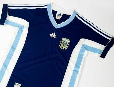 ARGENTINA AWAY WC 1998 MONDIALI WORLD CUP 98 WORLD CUP ARGENTINA