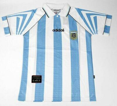 ARGENTINA HOME 1996-1998 MAGLIA CASA JERSEY HOME 1996 1998