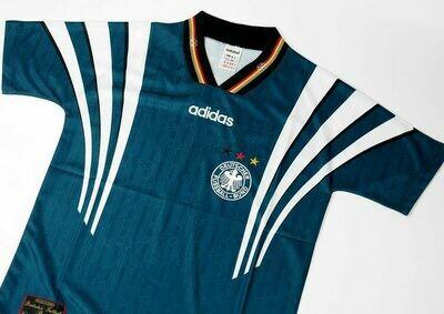 GERMANY AWAY 1996-1998 MAGLIA TRASFERTA 96 98 GERMANIA GERMANY