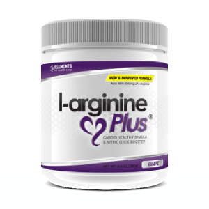 1 x tub of L-Arginine Plus™ (30 day supply) 1000 IUs Vitamin D3 - Grape Flavour