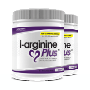 2 x tubs of L-Arginine Plus™ (60 day supply) 1000 IUs Vitamin D3 – Grape Flavour
