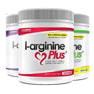 3 tubs of L-Arginine Plus™ (90 day supply) – One of each Flavour; Raspberry & Lime Lemon (2500 IUs Vitamin D3), Grape (1000 IUs Vitamin D3)