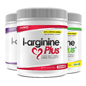 3 tubs of L-Arginine Plus™ (90 day supply) – One of each Flavour; Raspberry & Lime Lemon (2500 IUs Vitamin D3), Grape (1000 IUs Vitamin D3)