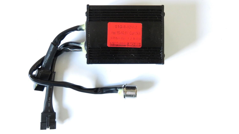 Golf Trolley Controller S1G-8V-12V-J (original T handle Pro Rider & others) - Not Remote