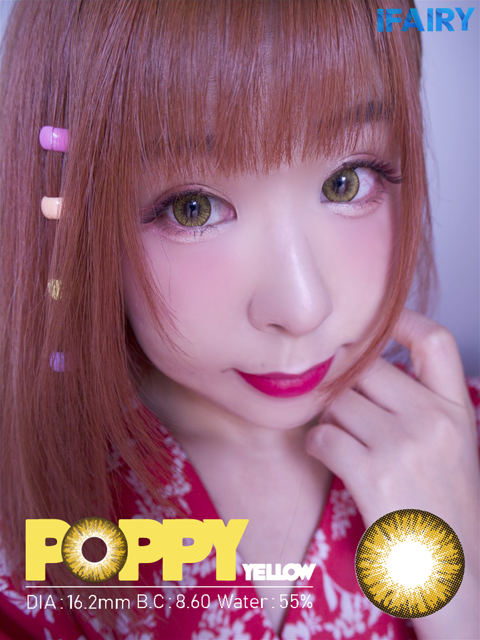 Poppy Yellow Brown