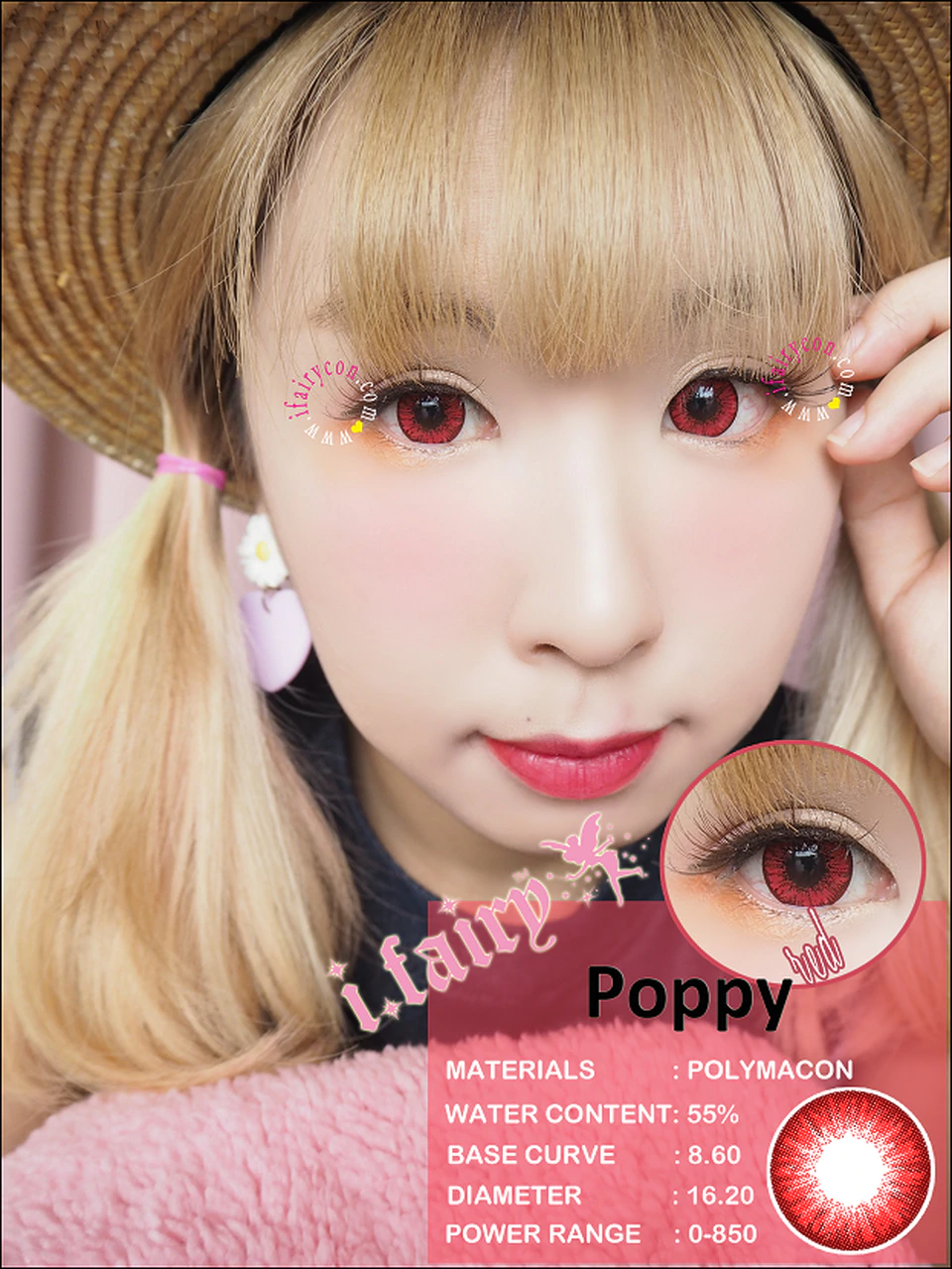 Poppy Red