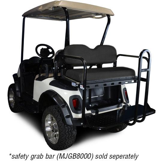 Black Seat Kit. Will fit E-Z-GO® RXV® Golf Carts