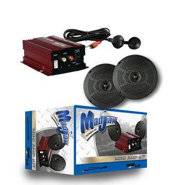 Mini Amp Kit with 6.5'' Speakers