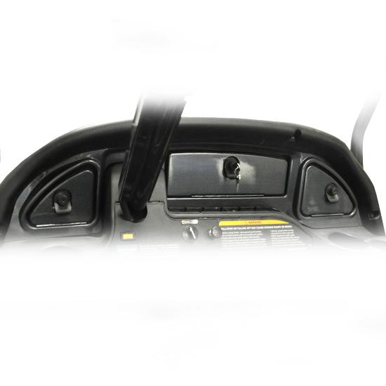Carbon Fiber Dash - fits 08+ Club Car®Precedent®