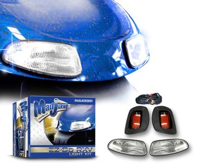 Light Kit. Will fit *E-Z-GO® *RXV® Golf Carts. With up-gradable harness.
