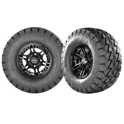 MIRAGE 10x7 Black w/ 22x10x10 Timber Wolf A/T Tire