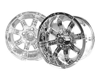 OCTANE 14x7 Chrome Wheel