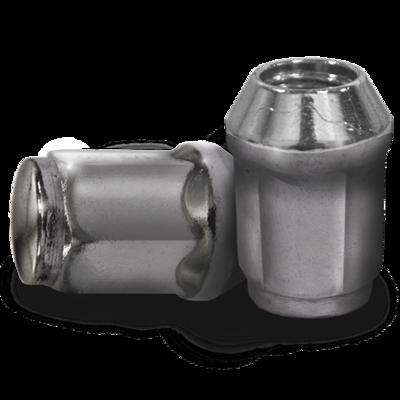16-Pack of 12mm x 1.25 Metric Lug Nuts- Chrome