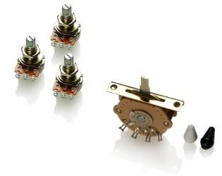 EMG Wiring Kit - 3 звукоснимателя под пайку