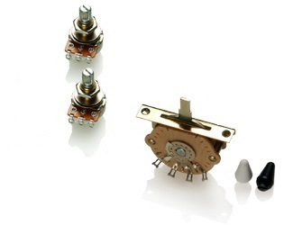 EMG Wiring Kit - 2 звукоснимателя под пайку