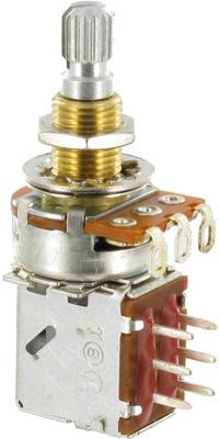 EMG POT PP LS (потенциометр тона-громкости PushPull) под пайку