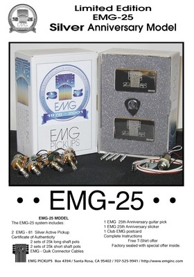EMG 25th Anniversary (81\81 Chrome) Set