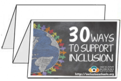 30 Ways to Support Inclusion Foldable Brochures (Bundle of 25)
