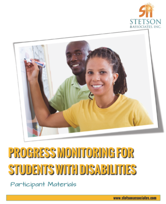 Progress Monitoring for Students with Disabilities