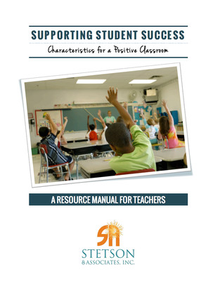 Supporting Student Success: Characteristics of a Positive Classroom (Digital Download)