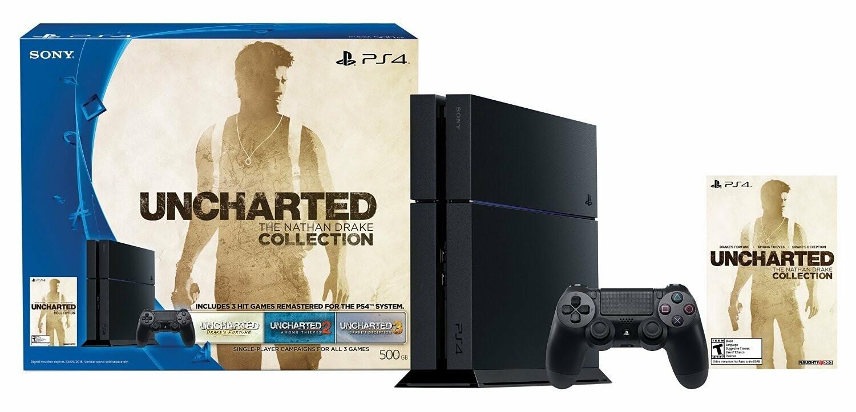 PS4 500Gb La Coleccion Nathan voucher para download