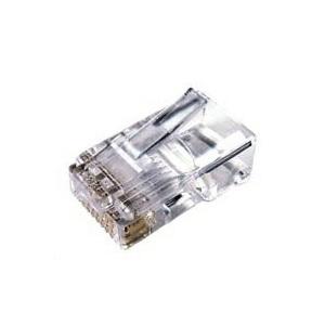 funda plastica conector rj45 cat6 dx 5000 unidades