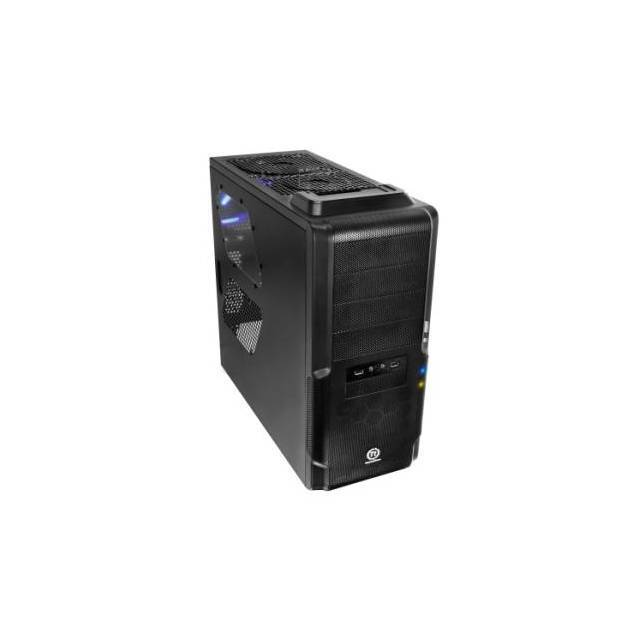 CAJA MEDIA TORRE CON DOCKING STATION THERMALTAKE DOKKER VM600M1W2Z SIN FUENTE PODER COLOR NEGRA