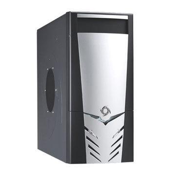 CAJA MEDIA TORRE CAS-NINJA2-K NEGRA 450W USB 1394 AUDIO